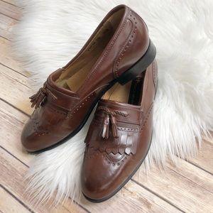Stacy Adams Wingtip Tassel Dress Shoes 9.5M